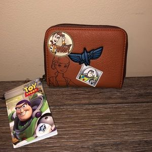 Disney Loungefly Toy Story Wallet NWT